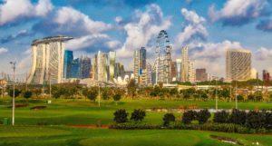 グリーンインフラが整備されている都市の風景