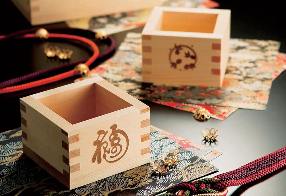 MASPACIOの魅力 日本の伝統工芸品、枡の魅力