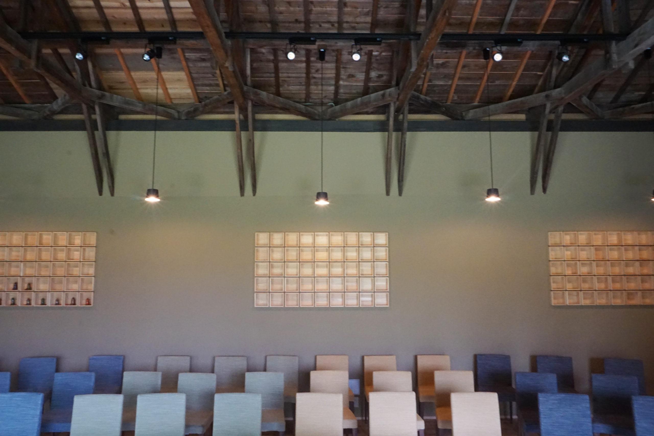 音楽ホール 木質空間