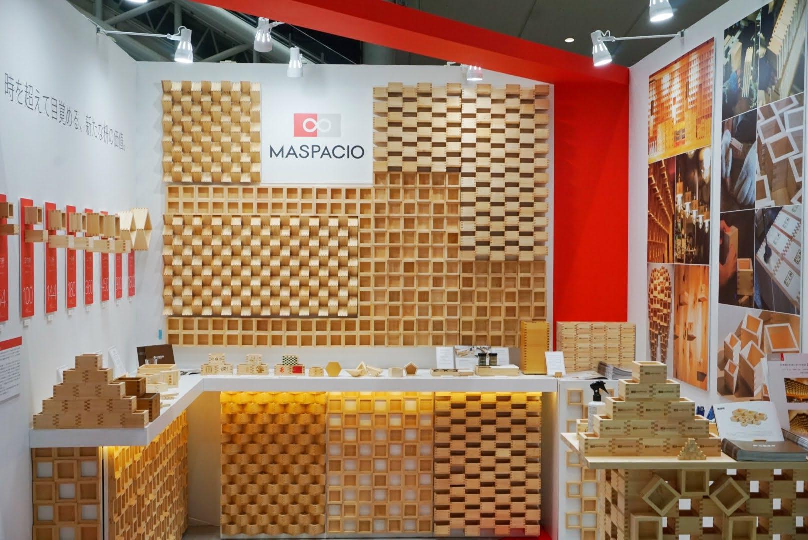 木材を活用した展示会ブースデザイン・レイアウト